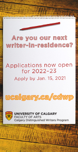 Calgary Distinguished Writers Program