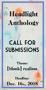 Call for Submissions to Headlight Anthology