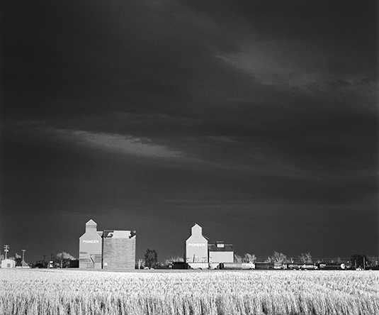 "Robert V Moody's ""Grain Elevators"""