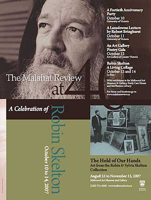Welcome to MalahatReview.ca - this is the cover of issue 161, Winter 07