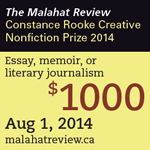 Creative Nonfiction Contest