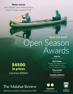 Open Season Awards poster