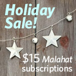 Holiday subscription