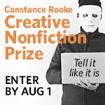 Constance Rooke CNF Prize
