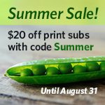 Summer Subscription Sale