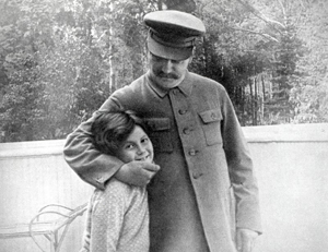 Svetlana Stalin and her Father