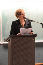 Yvonne Blomer at WordsThaw 2014