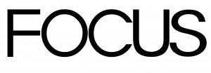 FOCUS logo black